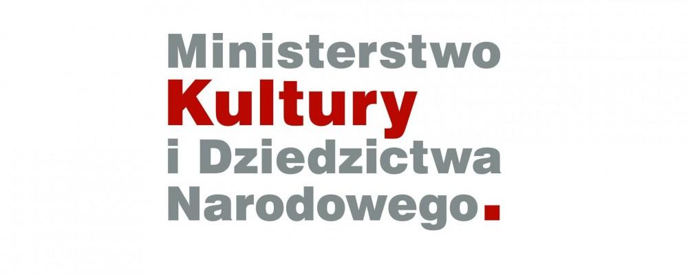 Zakupy dofinansowane ze środków Ministra Kultury i Dziedzictwa Narodowego.