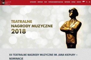 Soliści baletu Teatru Muzycznego nominowani do XII Teatralnych Nagród Muzycznych im. Jana Kiepury