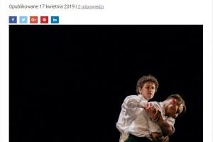 """Ewa Sobkowicz Blog: """"Czajkowski - Taniec Miłości"""" - Ostatnie szlify do premiery spektaklu"""