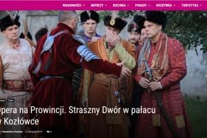 Lubelski.pl: Opera na Prowincji. Straszny Dwór w pałacu w Kozłówce