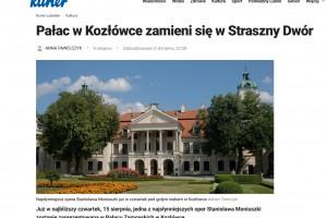 Kurier Lubelski: Pałac w Kozłówce zamieni się w Straszny Dwór