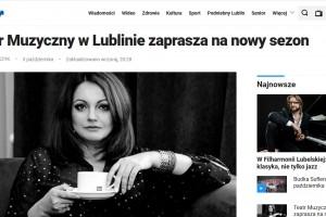 Kurier Lubelski: Teatr Muzyczny w Lublinie zaprasza na nowy sezon