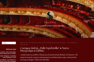"""Beata Fischer: Czarujący złodziej. """"Hallo Szpicbródka"""" w Teatrze Muzycznym w Lublinie."""