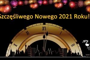 Optymizmu i pomyślności w Nowym 2021 Roku!