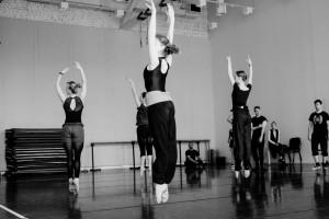 Audycja do zespołu baletowego