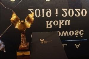 """Statuetka """"Osobowości Roku 2019""""  w kategorii Kultura dla Dyrektor Kamili Lendzion!"""