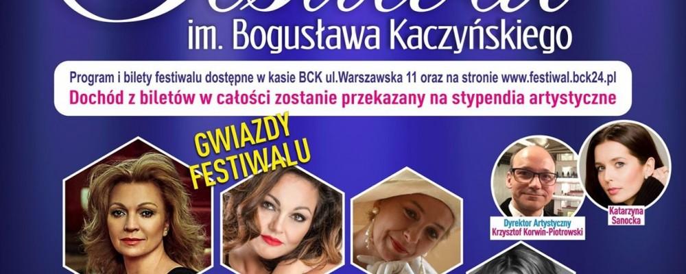 Zapraszamy do Białej Podlaskiej na III Festiwal im. Bogusława Kaczyńskiego