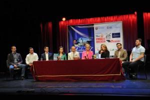 W sali widowiskowej naszego teatru odbyła się konferencja prasowa dotycząca 3. Festiwalu im. Bogusława Kaczyńskiego w Białej Podlaskiej